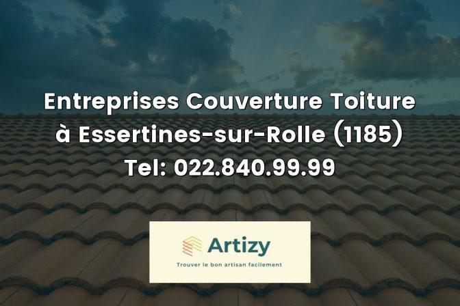 Entreprises Couverture Toiture à Essertines-sur-Rolle (1185) Tel: 022.840.99.99